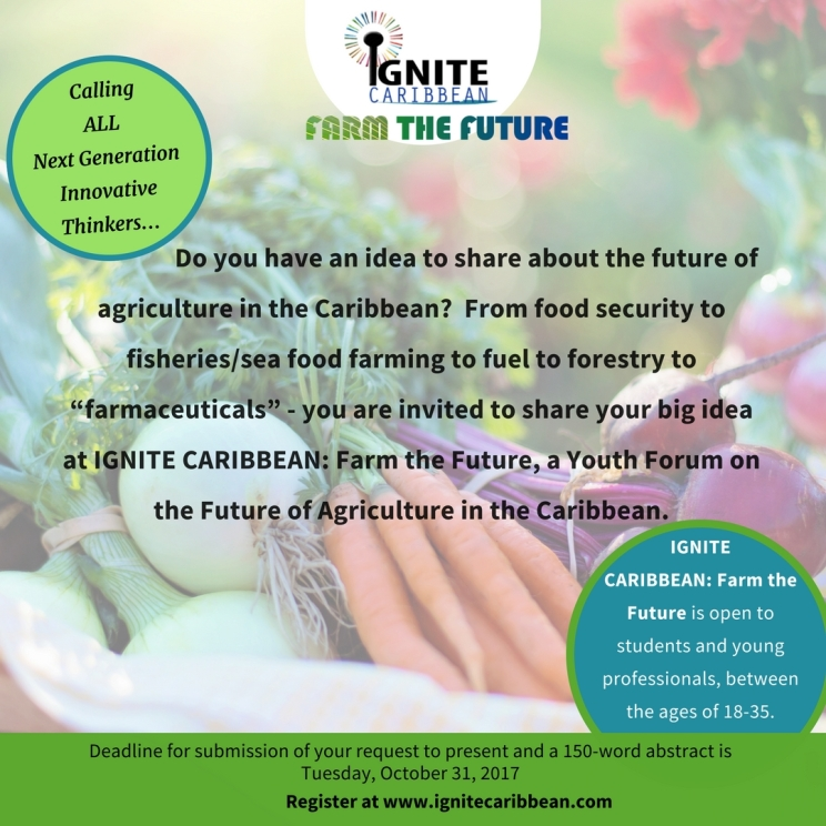 Ignite Caribbean- call for pres